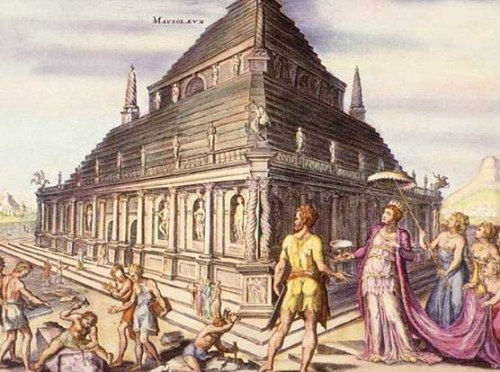The Mausoleum at Halicarnassus Pic