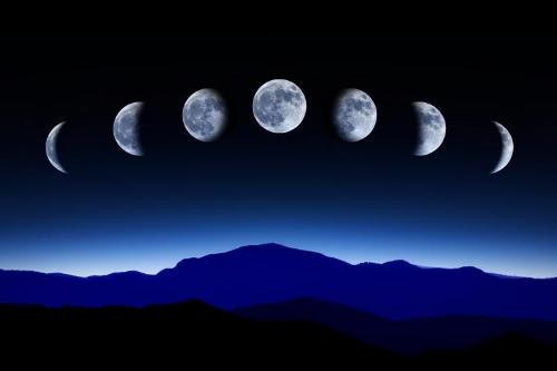The Moon Phases Pictures