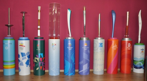the olympic torch facts