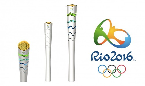 the olympic torch rio