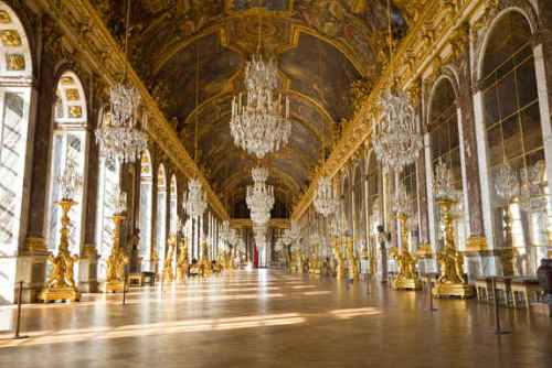 the palace of versailles interior