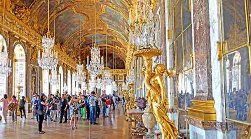 the palace of versailles visitors