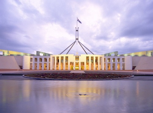 the parliament house canberra facts
