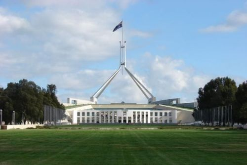 the parliament house canberra pic