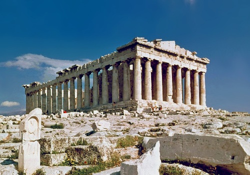 the parthenon facts