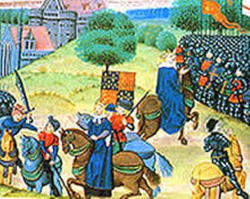 the peasants revolt image