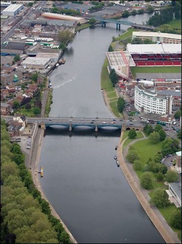 facts about the river trent