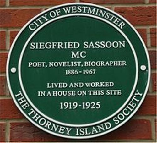 siegfried sassoon former home