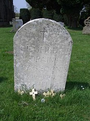 siegfried sassoon grave
