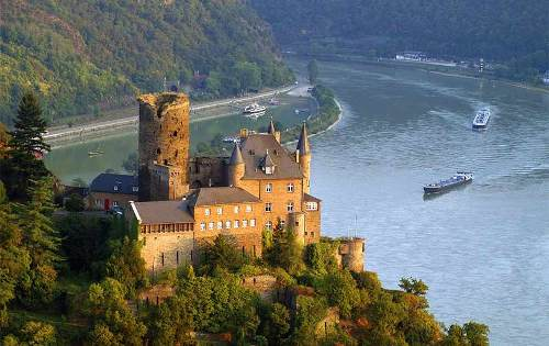 the river rhine facts