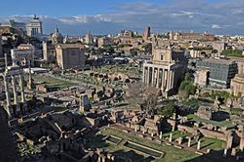 the roman forum pictures