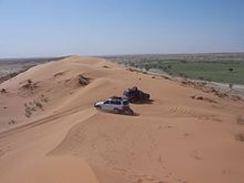 the simpson desert 2007