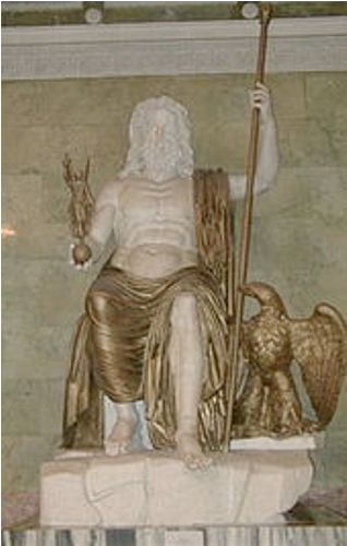 statue of zeus at olympia facts