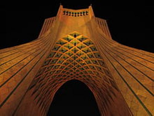 the azadi tower tehran