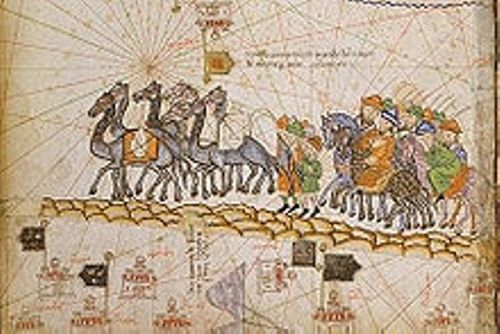 the silk road caravan