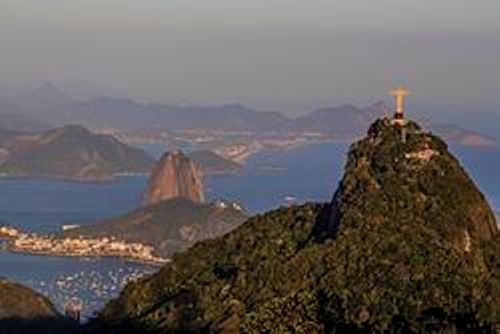 the statue in rio view