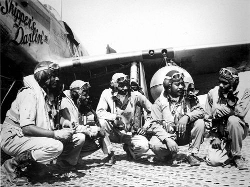 the tuskegee airmen images