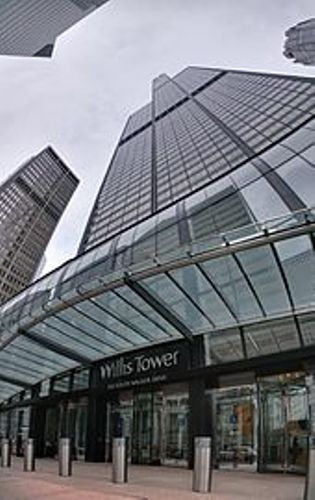 the Willis Tower Entrance