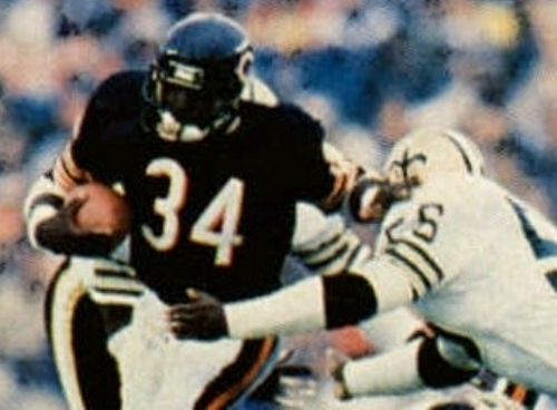 Facts about Walter Payton