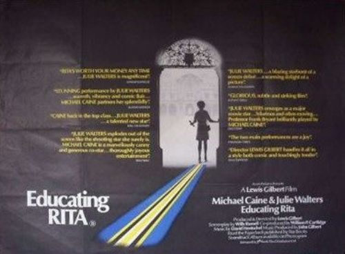 Willy Russell Educating Rita Poster