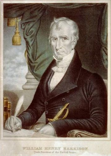 William Henry Harrison Poster