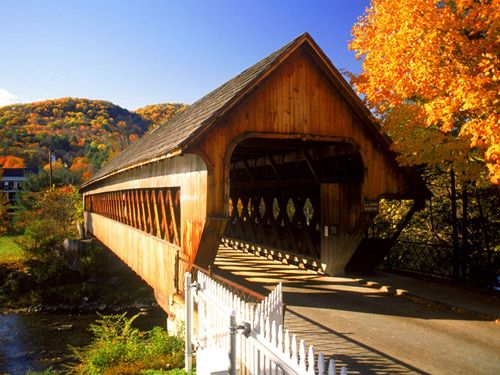 Bridge in Vermont