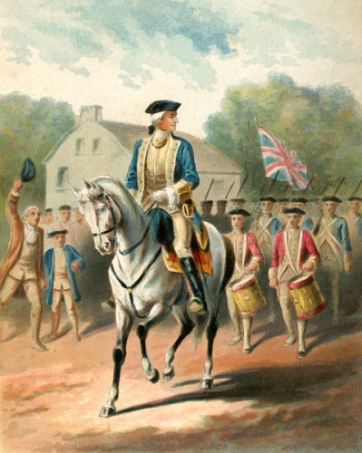 George Washington Riding a Horse