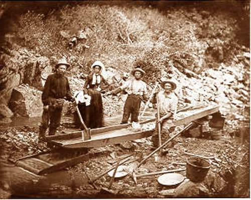 Gold Rush and Women