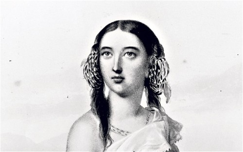 Pocahontas in her teen age