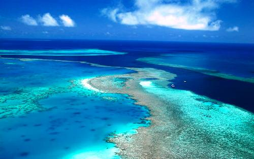 Great Barrier Reef at Noon