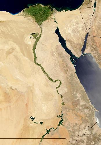 Nile River in Egypt