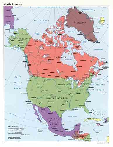10 Interesting North America Facts My Interesting Facts