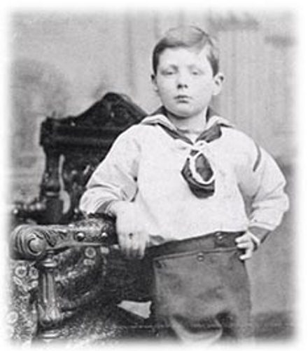 winston churchill as a kid