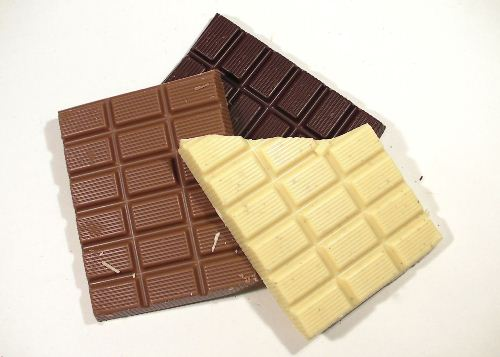 Chocolate in Different Colors