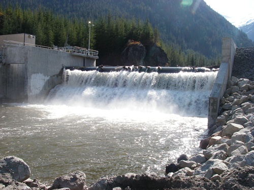 Hydropower on River