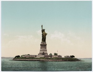 Liberty Statue in 1900