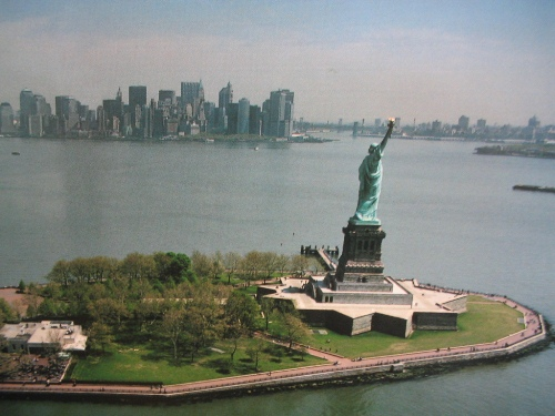 Statue of Liberty and Island