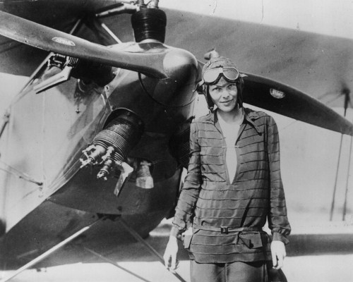 Amelia Earhart as Pilot