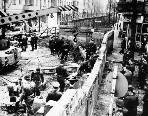 Berlin Wall in the Past