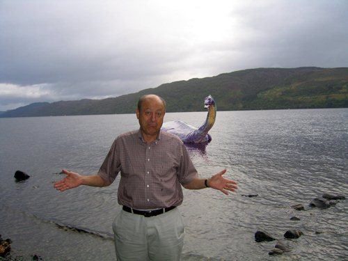 Loch Ness Monster Fake