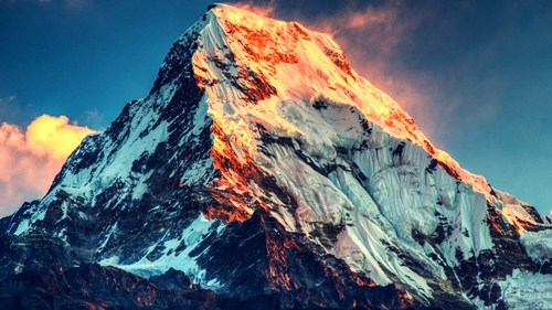 Mount Everest Scene