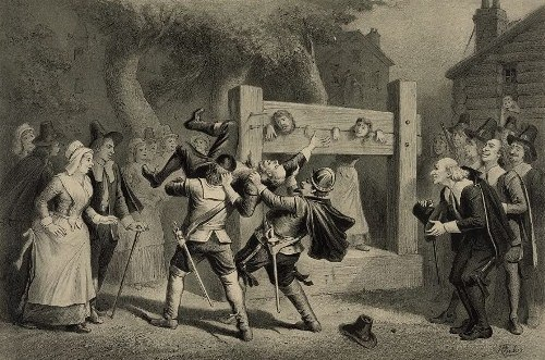 Punishment in Salem Witch Trials