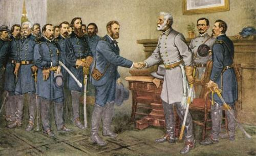 Robert E Lee Surrender