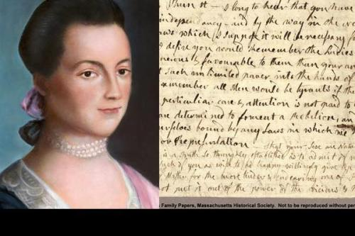 remember the ladies letter 10 interesting abigail facts my interesting facts 10427 | Abigail Adams Letter