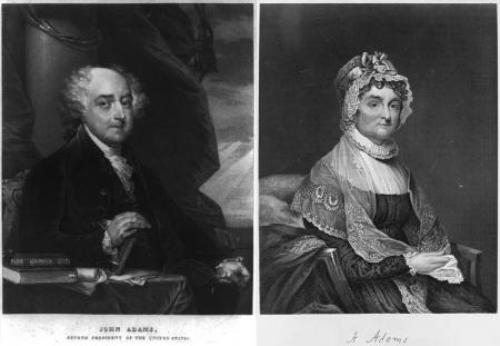 Abigail Adams and Husband