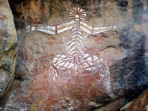 Aboriginal Art on Stone