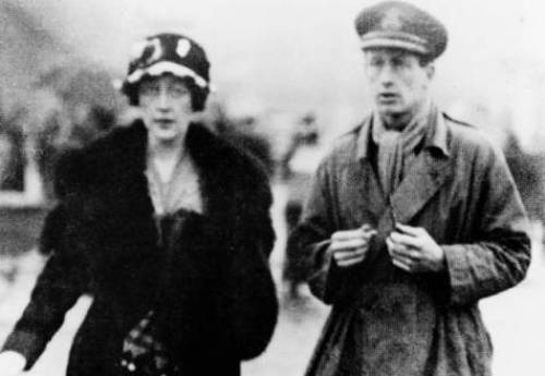 Agatha Christie and Husband