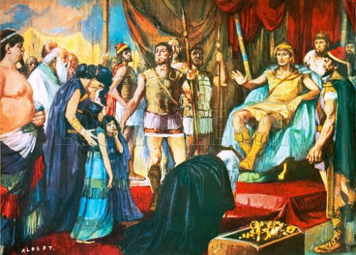 Alexander The Great and army
