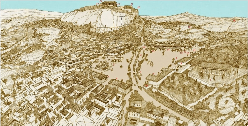 Ancient Athens City