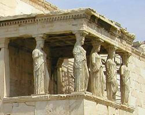 Ancient Athens Temple